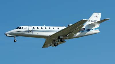 D-CAWB - Cessna 680 Citation Sovereign - Aerowest