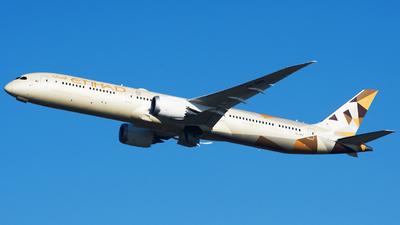 A6-BMB - Boeing 787-10 Dreamliner - Etihad Airways