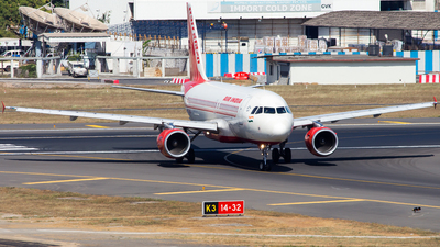 VT-SCU - Airbus A319-112 - Air India
