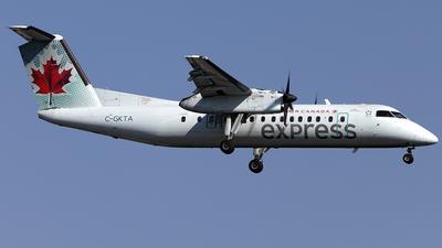 A picture of CGKTA - De Havilland Canada Dash 8300 - Air Canada - © TOMBARELLI FEDERICO