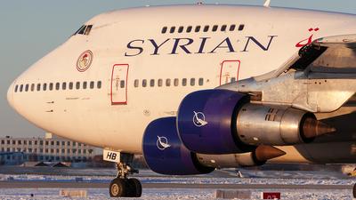 YK-AHB - Boeing 747SP-94 - Syrianair - Syrian Arab Airlines