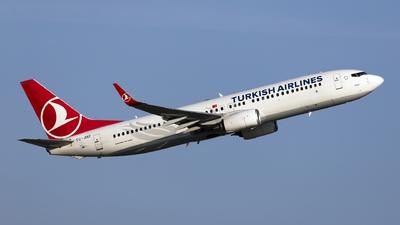 A picture of TCJHZ - Boeing 7378F2 - Turkish Airlines - © Ömür Sadikoglu