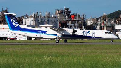 A picture of JA847A - De Havilland Canada Dash 8400 - All Nippon Airways - © isokazu