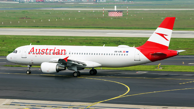 OE-LBL - Airbus A320-214 - Austrian Airlines