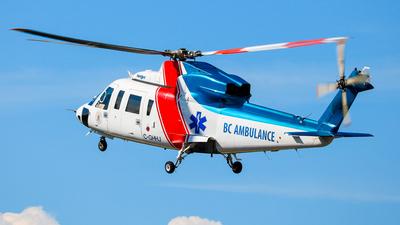 C-GHHJ - Sikorsky S-76C - British Columbia Ambulance Service