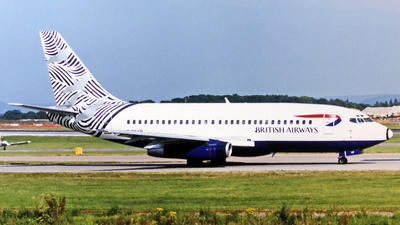 G-BKYP - Boeing 737-236(Adv) - British Airways