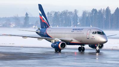 A picture of RA89126 - Sukhoi Superjet 10095B - Aeroflot - © Svyatoslav