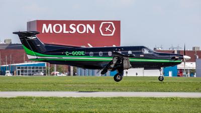 C-GODE - Pilatus PC-12/47 - Panorama Aviation