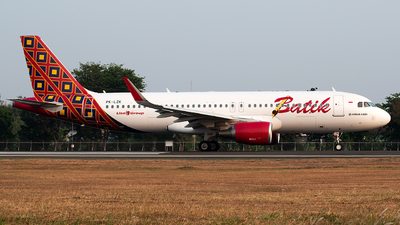 PK-LZK - Airbus A320-214 - Batik Air