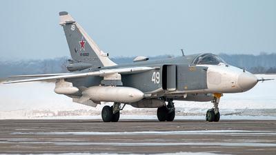 RF-92023 - Sukhoi Su-24MR Fencer - Russia - Air Force
