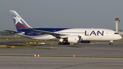 CC-BBE - Boeing 787-8 Dreamliner - LAN Airlines
