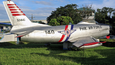 524140 - North American F-86D Sabre - Philippines - Air Force