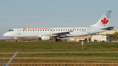 A picture of CFHNX - Embraer E190AR - [19000083] - © Jens Brokuf