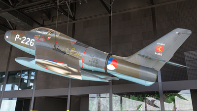 P-226 - Republic F-84F Thunderstreak - Netherlands - Royal Air Force