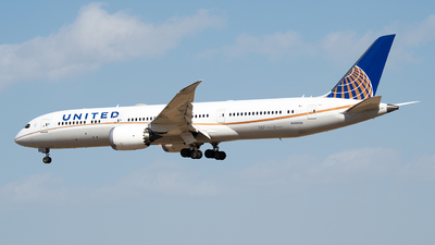 A picture of N38955 - Boeing 7879 Dreamliner - United Airlines - © 1219qiuda