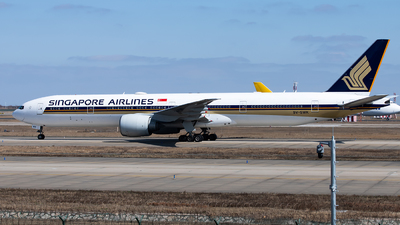 A picture of 9VSWK - Boeing 777312(ER) - Singapore Airlines - © Lazy Clutch