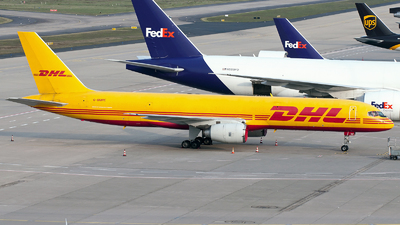 A picture of GBMRE - Boeing 757236(SF) - DHL - © Davide Mascheroni