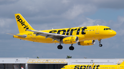 A picture of N522NK - Airbus A319132 - Spirit Airlines - © Mark Lawrence