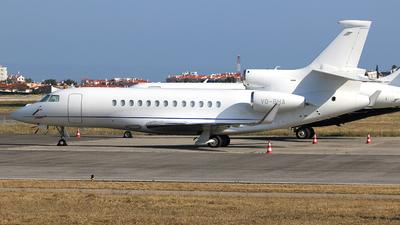 VQ-BHA - Dassault Falcon 7X - Squadron Aviation Services