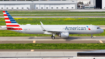 N400AN - Airbus A321-253NX - American Airlines