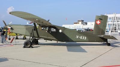 V-633 - Pilatus PC-6/B2-H2 Turbo Porter - Switzerland - Air Force