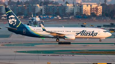 N518AS - Boeing 737-890 - Alaska Airlines