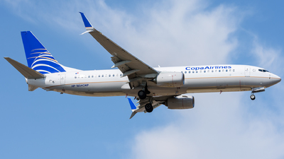 HP-1854CMP - Boeing 737-8V3 - Copa Airlines