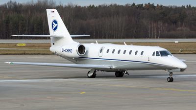 D-CHRD - Cessna 680 Citation Sovereign - Hahn Air