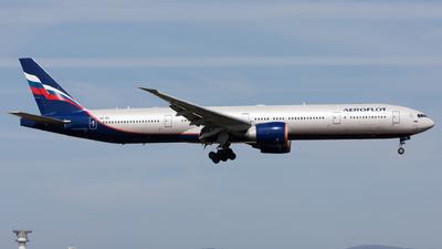 A picture of VQBIL - Boeing 7773M0(ER) - Aeroflot - © Sierra Aviation Photography