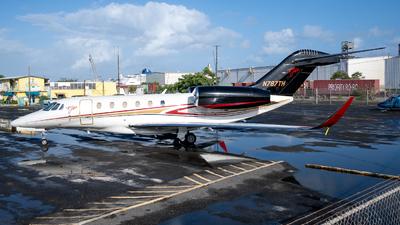 N787TH - Cessna 750 Citation X - Private