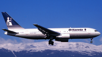 G-BRIG - Boeing 767-204(ER) - Britannia Airways