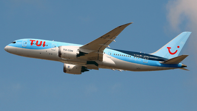 A picture of GTUII - Boeing 7878 Dreamliner - TUI fly - © Javier Rodriguez - Amics de Son Sant Joan