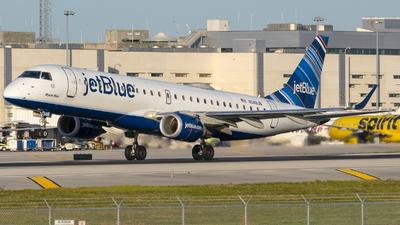 N348JB - Embraer 190-100IGW - jetBlue Airways