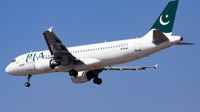 A picture of APBLW - Airbus A320214 - Pakistan International Airlines - © Shajie Hussain