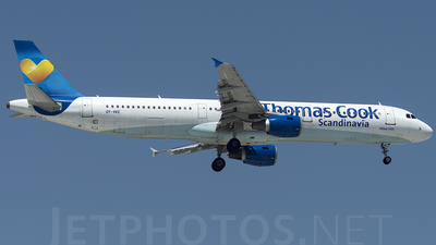 OY-VKE - Airbus A321-211 - Thomas Cook Airlines Scandinavia