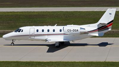 A picture of CSDQA - Cessna 560XLS Citation Excel - NetJets - © Hugo Schwarzer