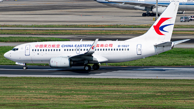 B-5827 - Boeing 737-76D - China Eastern Airlines