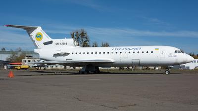 UR-42369 - Yakovlev Yak-42D - Lviv Airlines