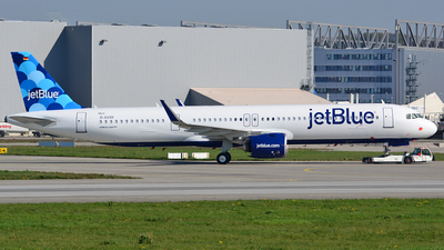 D-AVXK - Airbus A321-271NX - jetBlue Airways