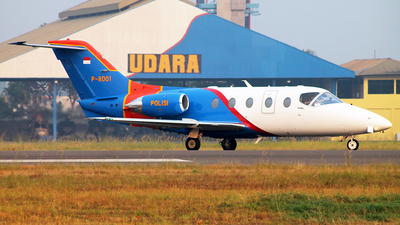 P-8001 - Hawker Beechcraft 400XP - Indonesia - Police