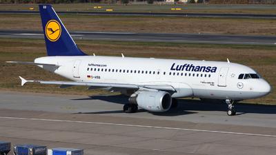 D-AIBB - Airbus A319-112 - Lufthansa