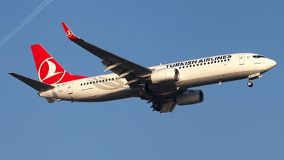 TC-JVT - Boeing 737-8F2 - Turkish Airlines