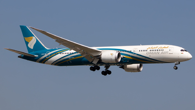 A picture of A4OSE - Boeing 7879 Dreamliner - Oman Air - © Aneesh Bapaye