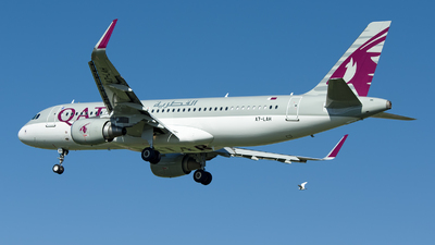 A picture of A7LAH - Airbus A320214 - Qatar Airways - © Ramon Jordi