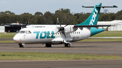 A picture of VHTOQ - ATR 42300(F) - Toll Aviation - © maryandthegeek