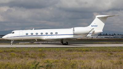 N2120 - Gulfstream G550 - Private