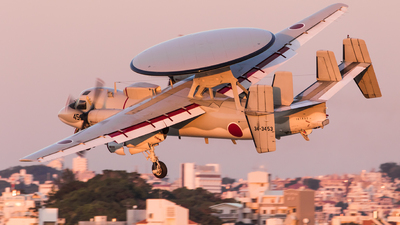 34-3453 - Grumman E-2C Hawkeye - Japan - Air Self Defence Force (JASDF)
