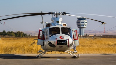 6-9540 - Agusta-Bell AB-412EP - Iran - Red Crescent Society