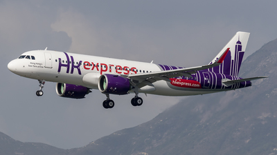 A picture of BLCQ - Airbus A320271N - Hong Kong Express - © Michael Malone