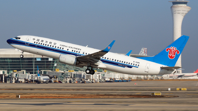 A picture of B1585 - Boeing 73781B - China Southern Airlines - © yiran